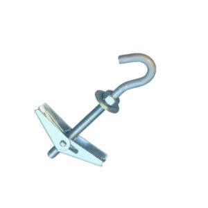 Складной пруж. дюбель с крюком