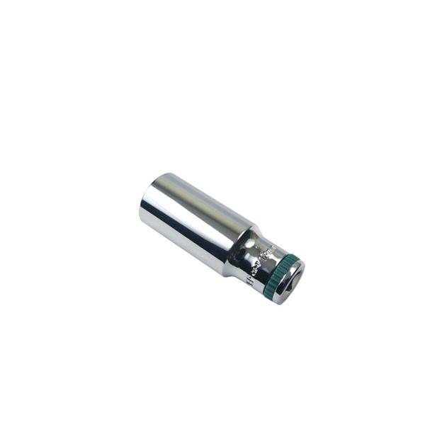 17мм Головка WP Cr-V, super lock, с ребристым кольцом, удл. 1/2